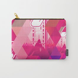 Raspberry Popsicle Carry-All Pouch
