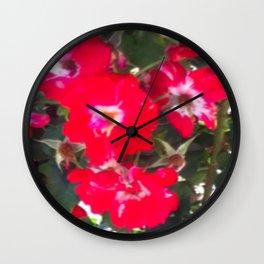 Nature's Bouquet Wall Clock