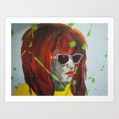 A Dash of Color Art Print