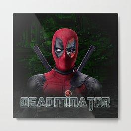 Deadminator Metal Print