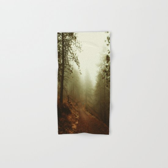 Autumn in Ponderosa Pines Forest Hand & Bath Towel