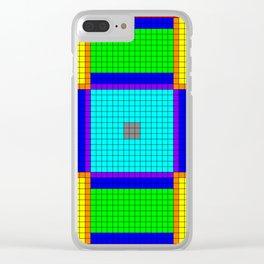 Iron Farm Floor 43x43 Clear iPhone Case