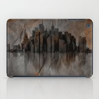 metropolis iPad Cases featuring Metropolis by Robin Curtiss