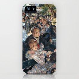 Bal du moulin de la Galette, Auguste Renoir, 1876 iPhone Case