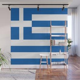 Flag of Greece Wall Mural