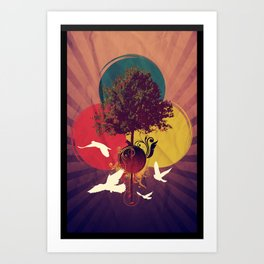 Wondertree Art Print