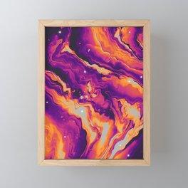 UNSTEADY Framed Mini Art Print