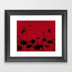 Red Sky Framed Art Print