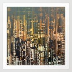 Density / Urban 28-08-16 Art Print