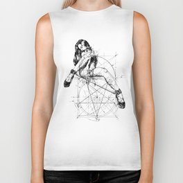 Samael Lilith and the Golden ratio Biker Tank