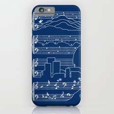 The Moonlight Sonata Blue iPhone 6 Slim Case