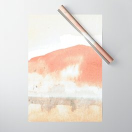 Terra Cotta Hills Abstract Landsape Wrapping Paper