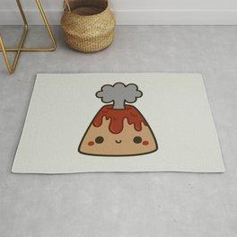 Cute volcano Rug