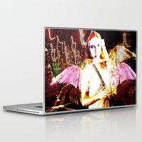 angels Laptop & iPad Skins featuring Angels by Maya Kechevski