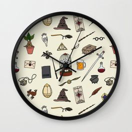 Harry Pattern Wall Clock