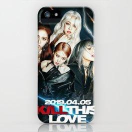 Blackpink kill this love iPhone Case