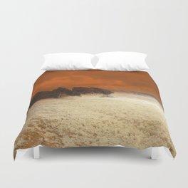 Sea Foam & Rough Seas Duvet Cover