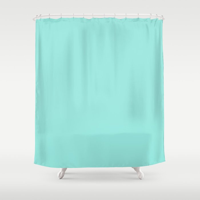 Tiffany Blue Shower Curtain By Followmeinstead