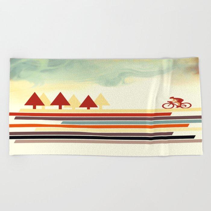Bicycle Beach Towel