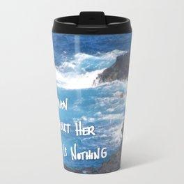 A Woman Travel Mug