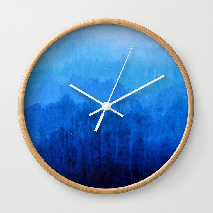 Mists No.4 Wall Clock