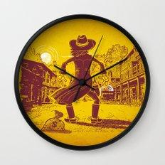 The Last Showdown - The bad guy Wall Clock