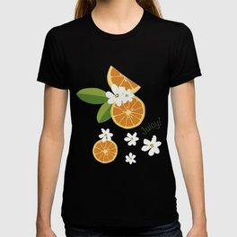 Orange blossom T-shirt