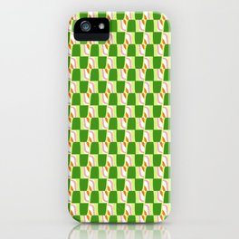 Green and Groovy iPhone Case