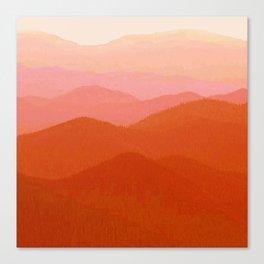Hunter Mountain Cinnamon Canvas Print
