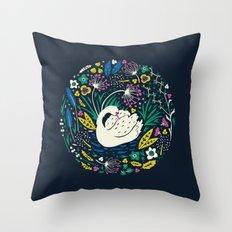 Wild Swan Throw Pillow
