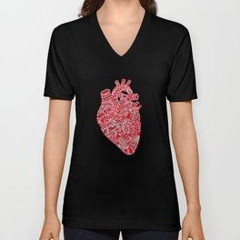 Lonely hearts Unisex V-Neck