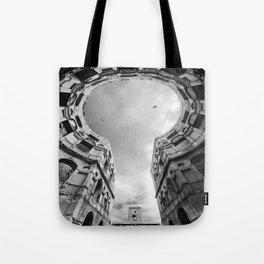The Keyhole Tote Bag
