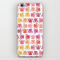 swimming iPhone & iPod Skins featuring Swimming by Robin Gayl