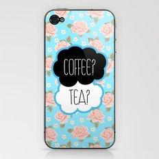 Coffee? Tea? iPhone & iPod Skin