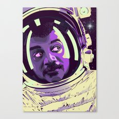 In Space Canvas Print