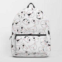 Cats - white Backpack