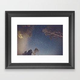 Smoke Burned Framed Art Print
