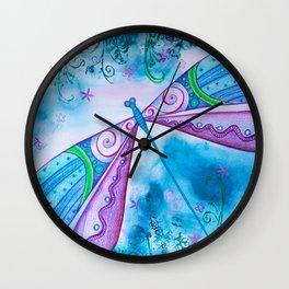 Dragonfly I Wall Clock