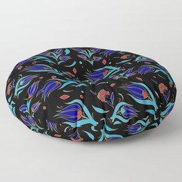 Turkish tulip pattern 9 Floor Pillow