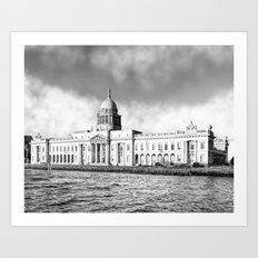 Dublin Custom House - Georgian Dublin Architecture Art Print