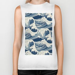 Sea Wave Biker Tank
