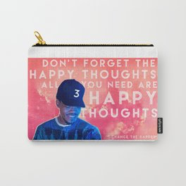 Happy Thoughts Carry-All Pouch