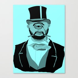 The Greatest Mustache Unknown to Man Canvas Print