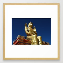 Ladakh Buddha Framed Art Print