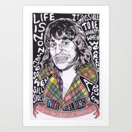 Noel Fielding  Art Print