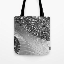Grey Scale Tote Bag