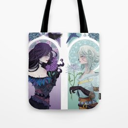 The Crow & The Swallow Tote Bag