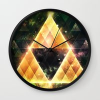 triforce Wall Clocks featuring Triforce by Spires