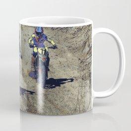 The Home Stretch - Motocross Racers Coffee Mug