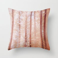 into the woods 14 Throw Pillow